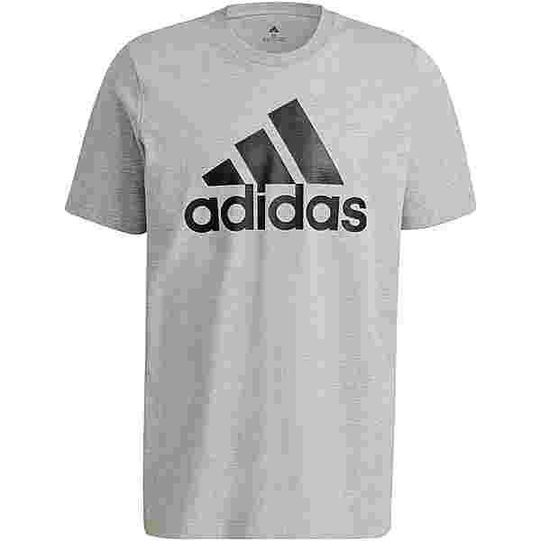 adidas Essentials T-Shirt Herren medium grey heather