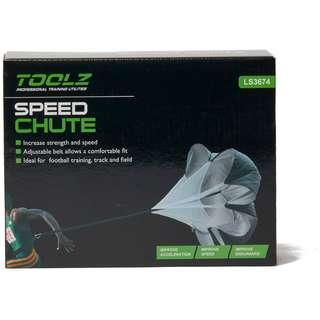 TOOLZ Speed Chute Fitnessgerät schwarz
