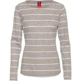 OCK Langarmshirt Damen light grey melange