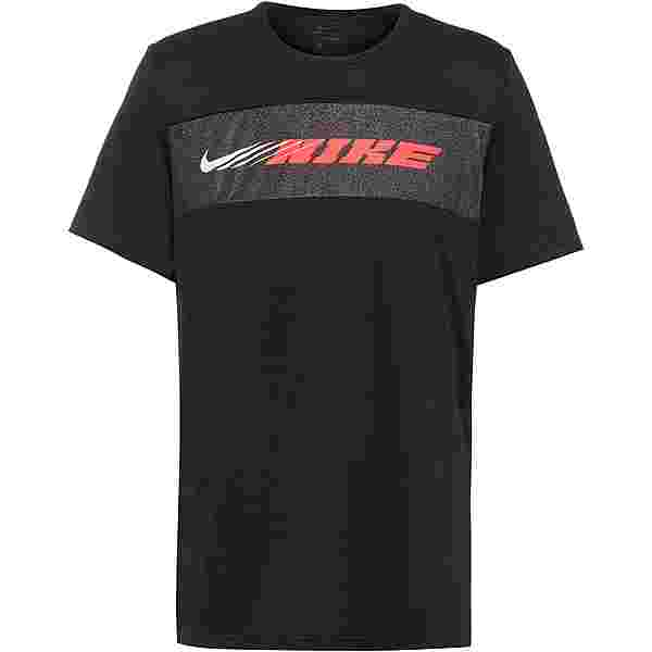 Nike Dry Superset Energy Funktionsshirt Herren black-bright crimson