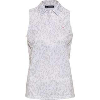 J.Lindeberg Dena Poloshirt Damen animal  grey white
