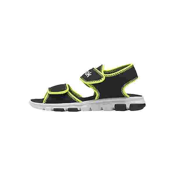 Reebok Wave Glider III Sandals Sandalen Kinder Black / Yellow Flare / White