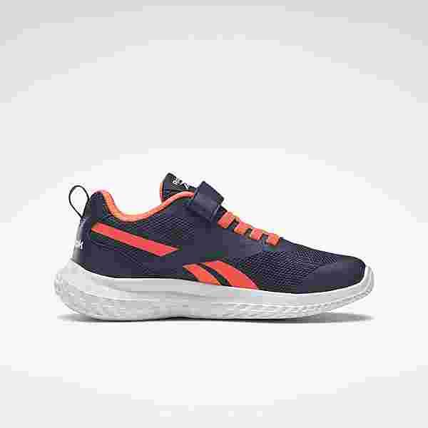 Reebok Reebok Rush Runner Alt Shoes Sneaker Kinder Vector Navy / Orange Flare / White
