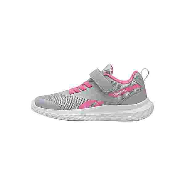 Reebok Reebok Rush Runner 3 Alt Shoes Sneaker Kinder Cold Grey 2 / Electro Pink / White