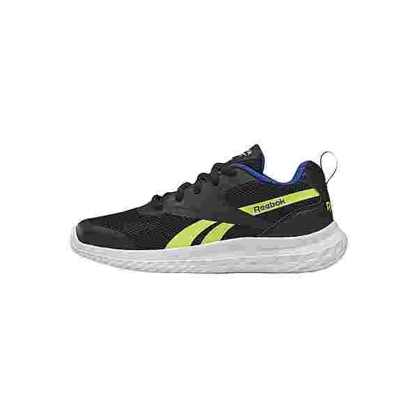 Reebok Reebok Rush Runner 3 Shoes Sneaker Kinder Black / Yellow Flare / Court Blue