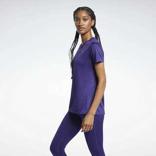 Reebok Run Essentials T-Shirt Funktionsshirt Damen Lila