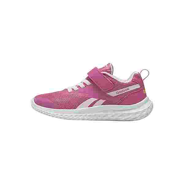 Reebok Reebok Rush Runner 3 Alt Shoes Sneaker Kinder Kicks Pink / Porcelain Pink / Yellow Flare