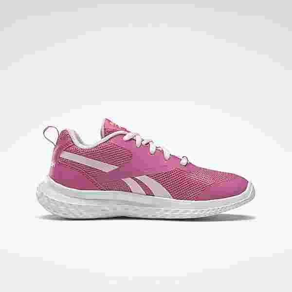 Reebok Reebok Rush Runner 3 Shoes Sneaker Kinder Kicks Pink / Porcelain Pink / Yellow Flare