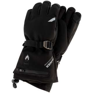 Zanier HEAT.STX Skihandschuhe schwarz