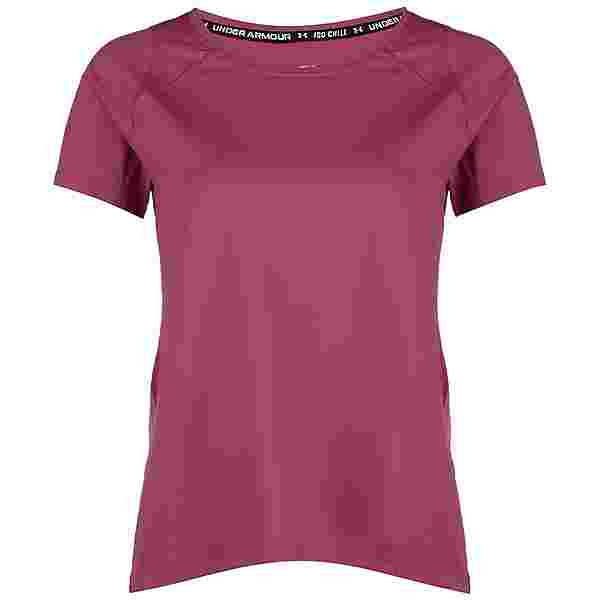 Under Armour IsoChill Laufshirt Damen pink
