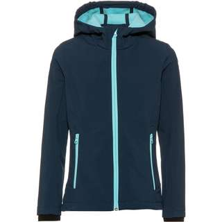 CMP Softshelljacke Kinder blue-pool