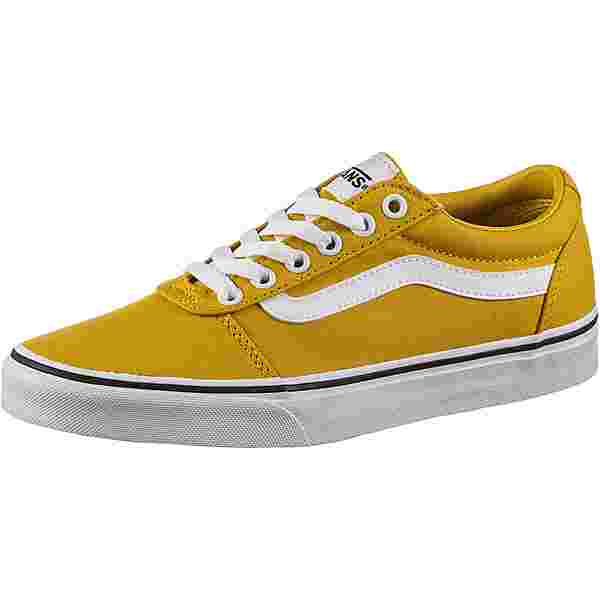 Vans Ward Sneaker Damen ceylon yellow-white
