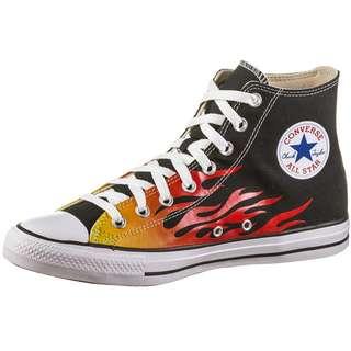 CONVERSE Chuck Taylor All Star HI Sneaker Herren black-enamel red-fresh yellow