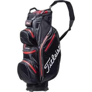 Titleist Cart 14 StaDry Golftasche black-red