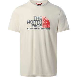 The North Face Rust T-Shirt Herren VINTAGE WHITE