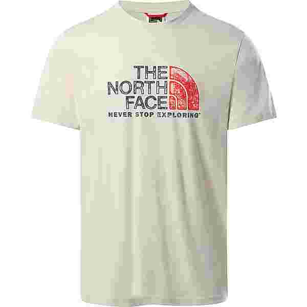 The North Face Rust T-Shirt Herren vintage white