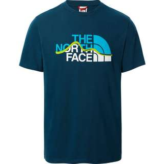 The North Face MOUNTAIN LINE T-Shirt Herren monterey blue