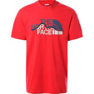 The North Face MOUNTAIN LINE T-Shirt Herren rococco red