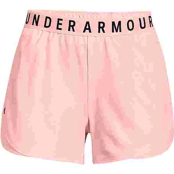 Under Armour Play Up Emboss 3.0 Funktionsshorts Damen pink