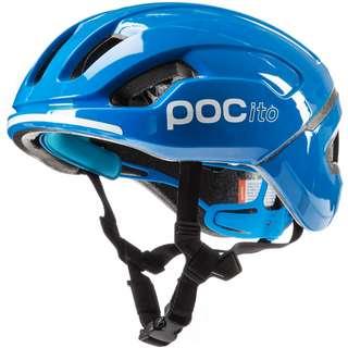 POC POCito Omne SPIN Fahrradhelm Kinder fluorescent blue