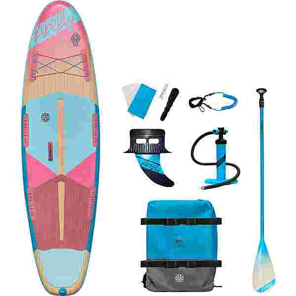 FIREFLY SUP-Board iSUP COM W SUP Sets wood-violet-turquois