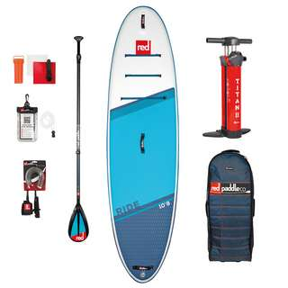 "Red Paddle RIDE 10'8"" x 34"" x 4,7"" MSL SET SUP Sets blau"