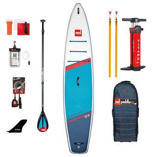 "Red Paddle SPORT 12'6"" x 30"" x 6"" MSL SET SUP Sets blau"