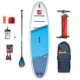 "Red Paddle RIDE 10'6"" X 32"" X 4,7"" MSL SET SUP Sets blau"