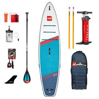 "Red Paddle SPORT 11'0"" x 30"" x 4,7"" MSL SET SUP Sets blau"