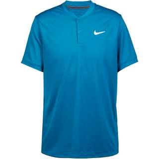 Nike DRY BLADE Tennis Polo Herren green abyss-white