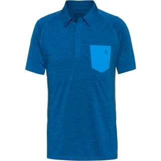 Schöffel Hocheck Poloshirt Herren blue sapphire