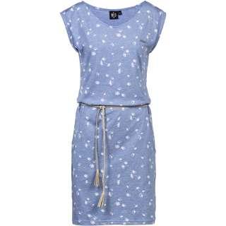 WLD Luna City Jerseykleid Damen light blue melange