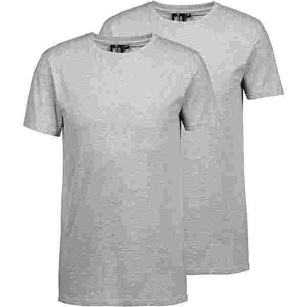 WLD Shirt Doppelpack Herren grey melange