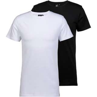 WLD Shirt Doppelpack Herren white and black