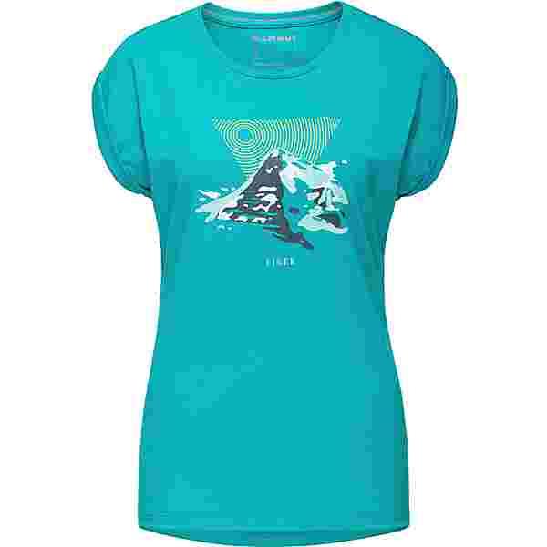 Mammut Mountain Printshirt Damen dark ceramic