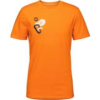 Mammut Massone T-Shirt Herren dark cheddar prt1