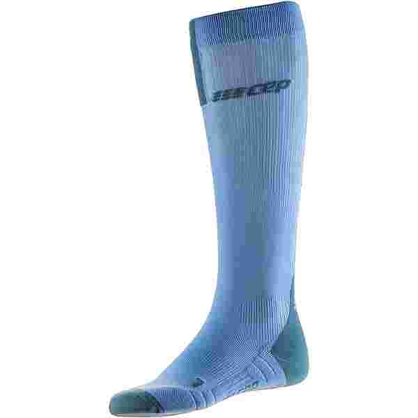 CEP Run Compression Socks 3.0 Kompressionsstrümpfe Damen sky-grey