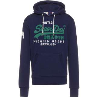 Superdry Hoodie Herren midnight blue grit