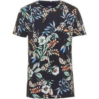 Superdry T-Shirt Herren black hawaiian