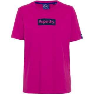 Superdry Workwear T-Shirt Damen dusty wine