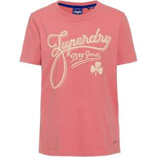 Superdry Workwear T-Shirt Damen dusty rose