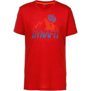 Dynafit Transalper Graphic Funktionsshirt Herren red