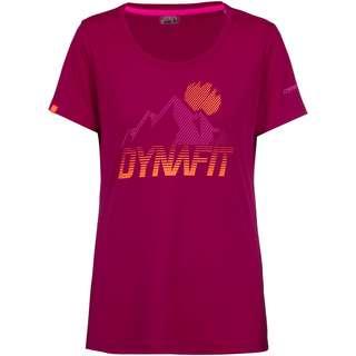 Dynafit Transalper Graphic Funktionsshirt Damen beet red