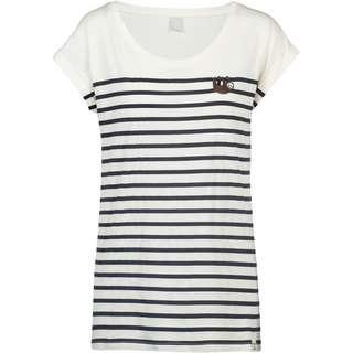 iriedaily Slothy T-Shirt Damen offwhite