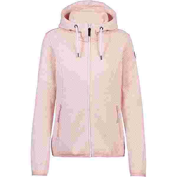 ICEPEAK ADRIAN Strickfleece Damen light pink