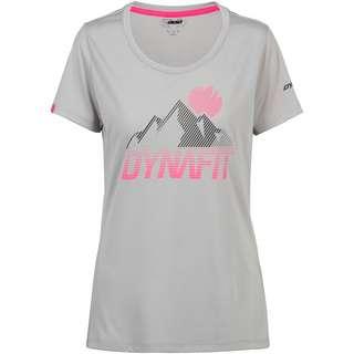 Dynafit Transalper Graphic Funktionsshirt Damen alloy
