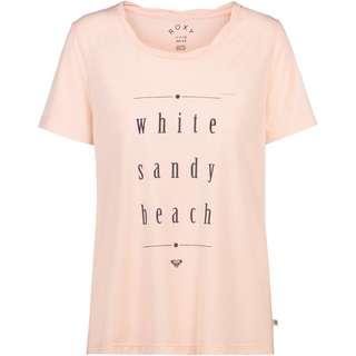 Roxy Chasing the Swell T-Shirt Damen peach blush
