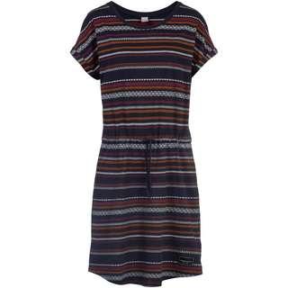 iriedaily Caipini Jerseykleid Damen navy striped