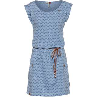 Ragwear Tag Chevron Jerseykleid Damen blue