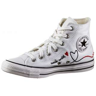 CONVERSE Chuck Taylor All Star HI Sneaker Damen vintage white-egret/black